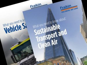 Free Fraikin guides cover sustainability and vehicle issues for fleet operators