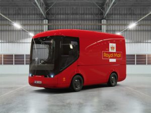 Royal Mail trials fully electric trucks