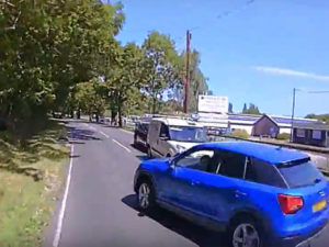 Latest camera footage exonerates van drivers