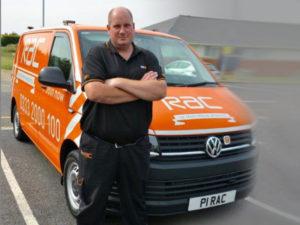 RAC Patrol of the Year Chris Burgess