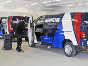 Mountjoy liveried vehicles