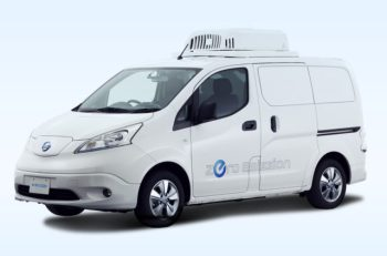 Nissan electric delivery vehicle