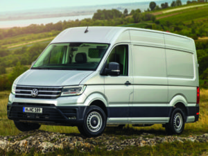 Operators can pre-book now to test the Volkswagen Crafter at the CV Show.