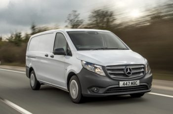 Mercedes-Benz Vans Vito on the road