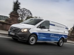 Electric vans from Mercedes-Benz Vans: eVito launches in 2018