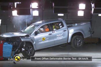 Mercedes-Benz X-Class scored five stars in Euro NCAP tests