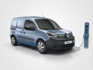 Renault plugged-in electric van
