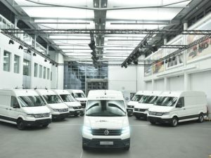 First e-Crafter vehicles in customers' hands