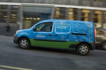 CitySprint hydrogen van