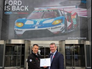 Ford has named Cartwright as a Qualified Vehicle Modifier.