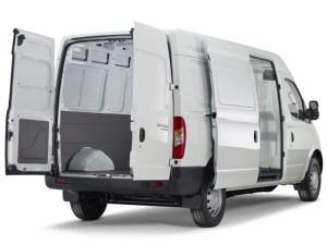 Maxus EV80 - RA Doors open
