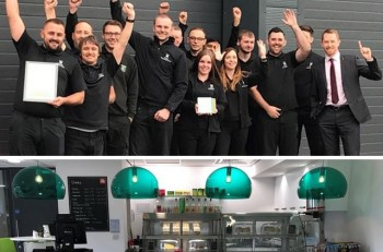 The team at Durham celebrate their customer satisfaction success