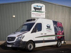 Fraikin supplied the five refrigerated 3.5-tonne Mercedes-Benz Sprinter vans on full-service contract hire.