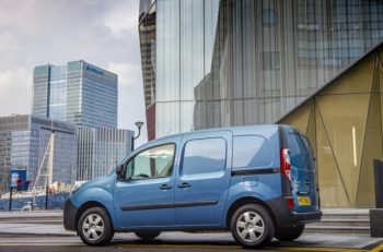 Small electric vans like the Renault Kangoo Z.E.33 have already reached price parity with a diesel equivalent