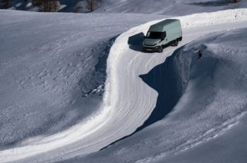 Michelin tested its Agilis CrossClimate tyre in rigorous winter conditions in the Alps and Arctic