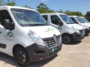 Sign Language has rebranded vans for landscaping and grounds maintenance firm idverde