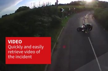 A new insurance policy integrates front-facing CCTV and telematics