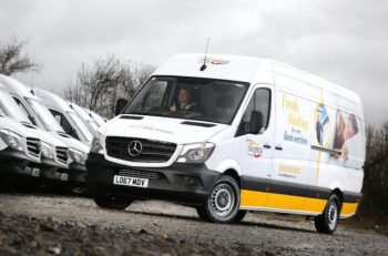 Fraikin has delivered 49 3.5-tonne Mercedes-Benz Sprinter vans to Johnsons Stalbridge Linen Services.
