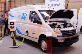 The LDV EV80 is now eligible for the Plug-in Van Grant.