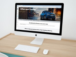 Volkswagen Commercial Vehicles has updated its website to include a finance calculator