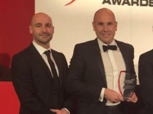 (L-R) Gary Barnes, operations director of VisionTrack with managing director Simon Marsh