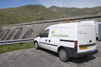 ScottishPower is installing Trakm8's RoadHawk DC-2 forward-facing camera throughout its new fleet as part of its vehicle replacement scheme.