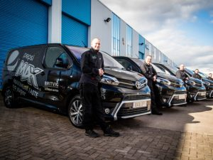 Britvic's new Proace vans will be used by its Technical Service team.
