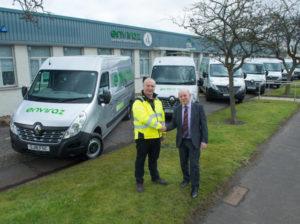 Glasgow-based Enviraz has added 18 Renault Master and seven Renault Kangoo models to its fleet.