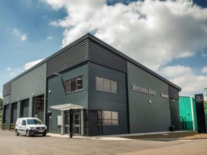 The £1m Taunton workshop has been opened in response to soaring demand from customers for manufacturer-approved aftersales support