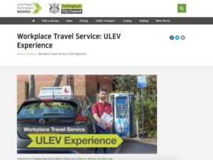 The ULEV Experience brings access to ULEV funding support, advice and free vehicle trials