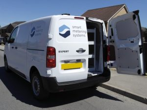 Cartwright has converted 29 Peugeot Expert vans for SMS