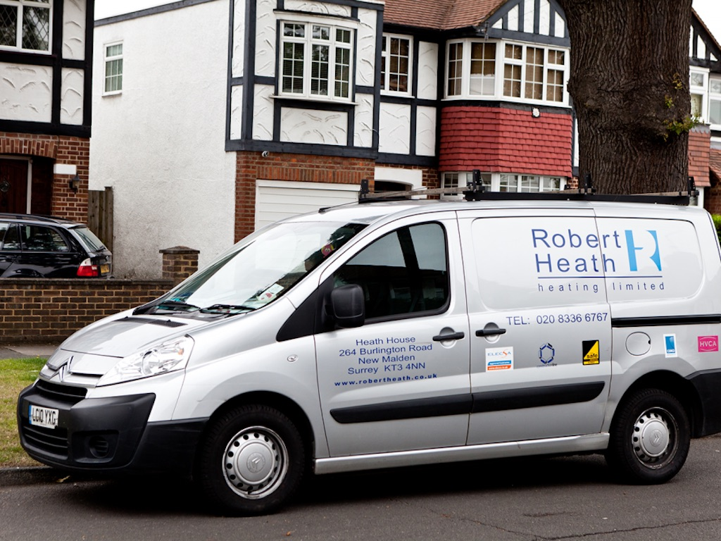 Robert Heath Heating cuts costs and accidents with help of
