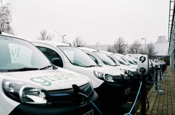 Gnewt operates London's largest fully electric delivery fleet