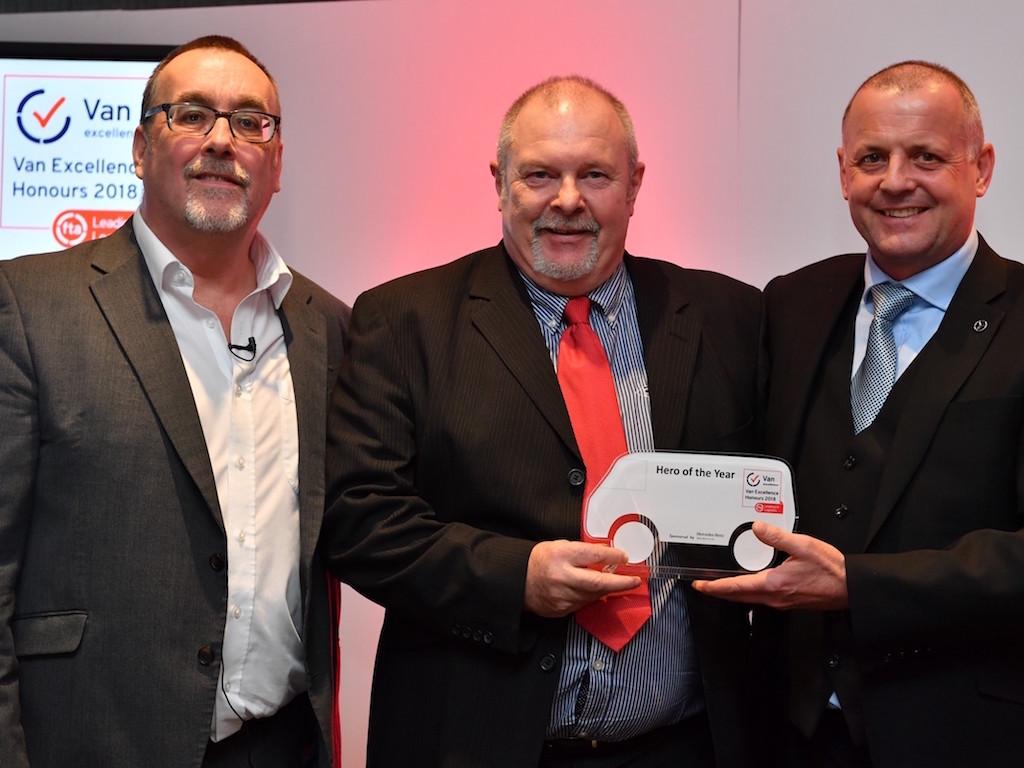 FTA names Van Excellence Hero of the Year Award winner
