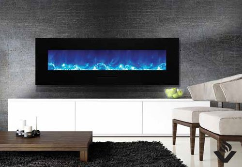 Electric Fireplaces Wall Mount Flush Mount Wm Fm Series Amantii Wm-fm Series Electric Fireplace | Vancouver Gas