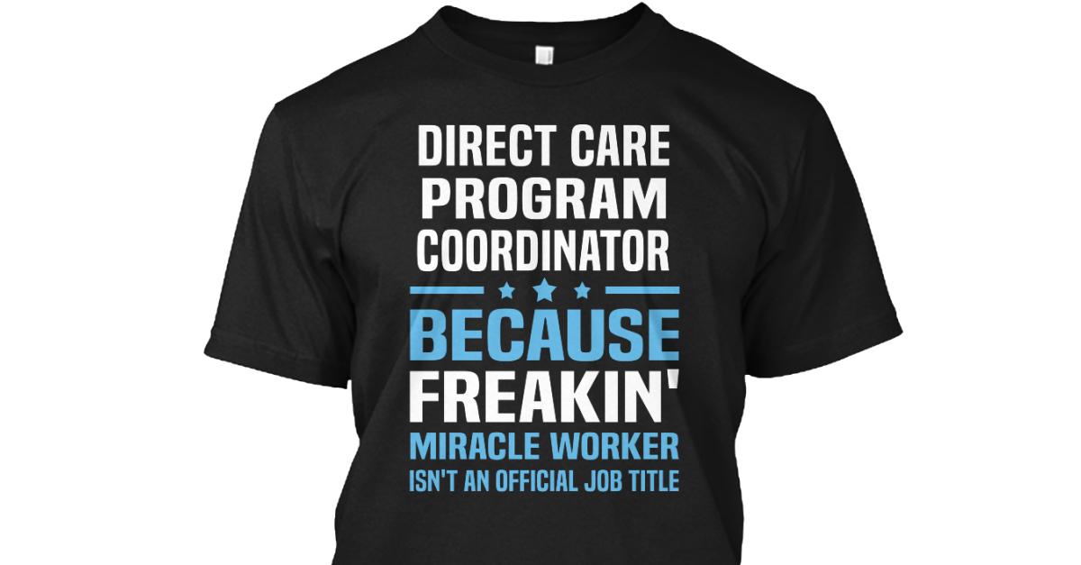 Direct Care Program Coordinator  direct care program