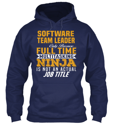 Software Team Leader Products  Teespring