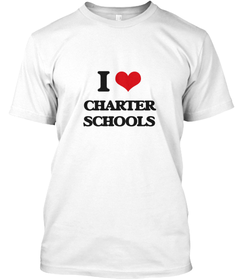 love charter schools white  shirt front also products teespring rh