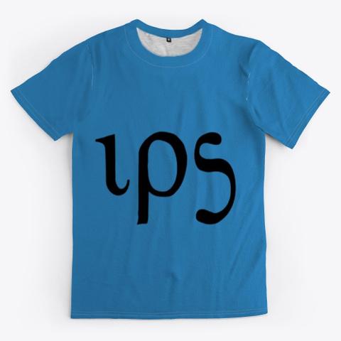 Ips, Infinite Plane Society Denim Blue T-Shirt Front