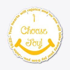 I Choose Joy! Standard T-Shirt Front