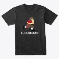 A Nod To A Classic Vintage Black T-Shirt Front