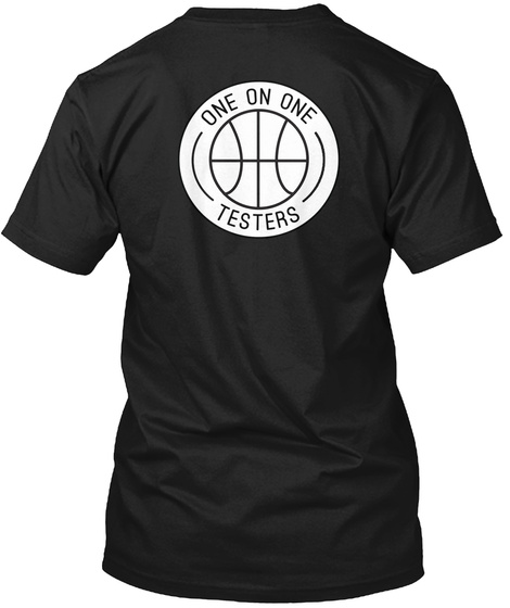 One On One Signature Tee Black T-Shirt Back