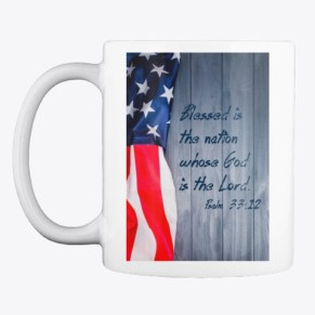 Patriotic Collection White Mug Front
