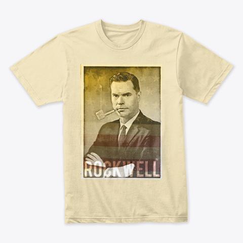 Rockwell Americana Cream T-Shirt Front