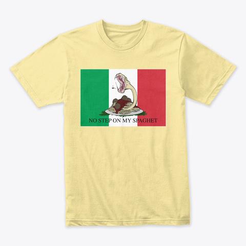 Italian Gadsden Flag Banana Cream T-Shirt Front