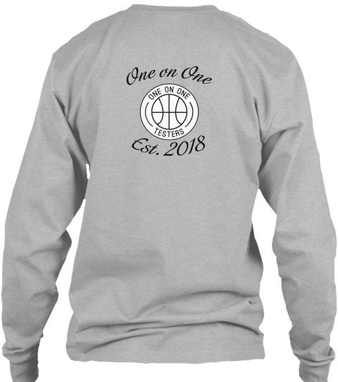 One On One Est. Long Sleeve Tee Sport Grey Long Sleeve T-Shirt Back