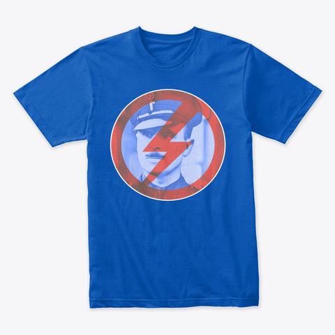 Sir Oswald Mosley Insignia Royal T-Shirt Front