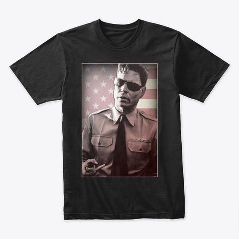 Commander Rockwell Black T-Shirt Front
