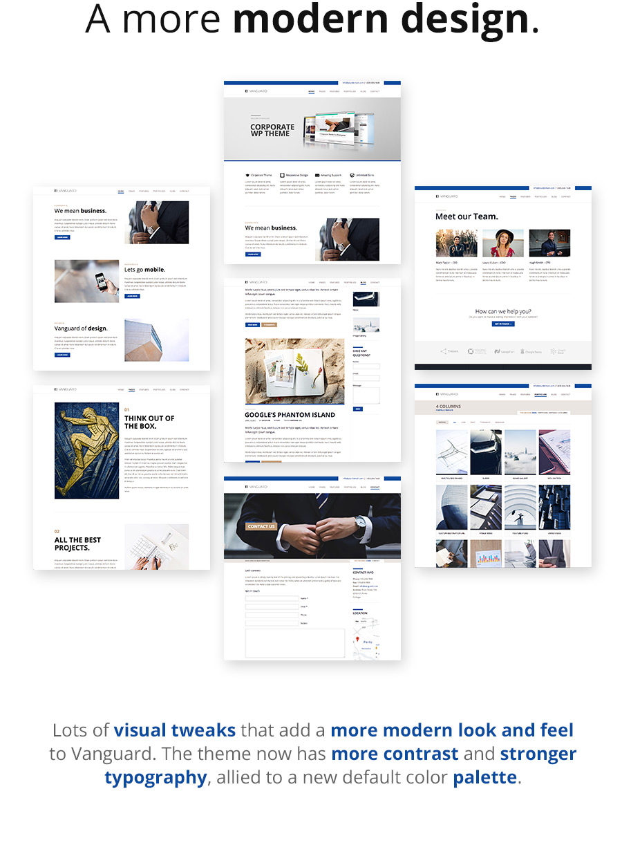 Vanguard: Business & Portfolio WordPress Theme - 8