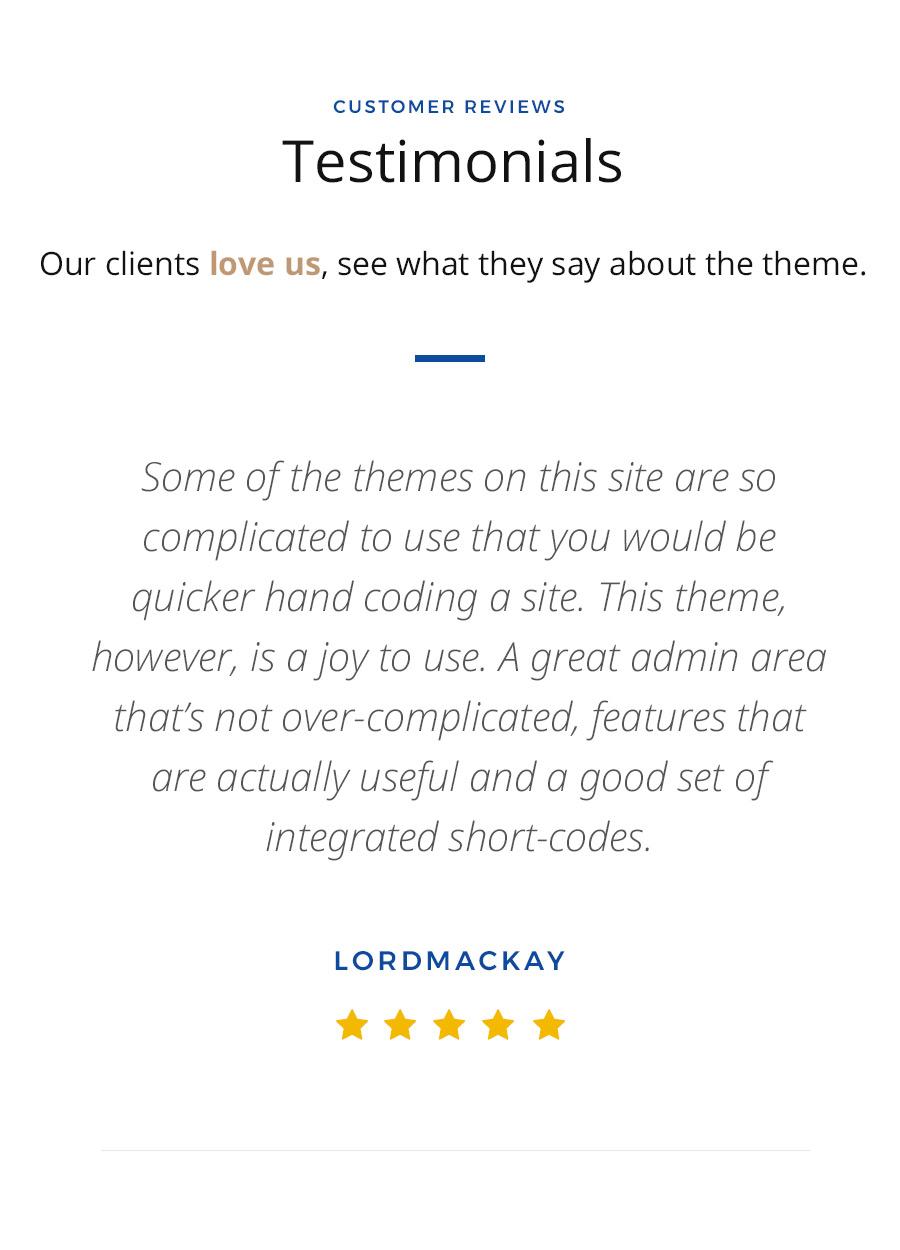 Vanguard: Business & Portfolio WordPress Theme - 16